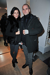 LIBERTY ROSS and LYONEL TOLLEMACHE at the launch party for Club Monaco at Browns, 32 South Molton Street, London on 16th February 2011.