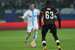 27.11.2014, Stadium Kantrida, Rijeka, CRO, UEFA EL, HNK Rijeka vs FC Standard Liege, Gruppe G, im Bild Marko Vesovic // during the UEFA Europa Lduring the UEFA Europa League group G match between HNK Rijeka and FC Standard Liege at the Stadium Kantrida in Rijeka, Croatia on 2014/11/27. EXPA Pictures © 2014, PhotoCredit: EXPA/ Pixsell/ Nel Pavletic<br /> <br /> *****ATTENTION - for AUT, SLO, SUI, SWE, ITA, FRA only*****