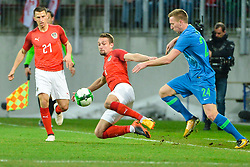 Stefan Ilsanker of Austria during friendly football match between National teams of Austria and Slovenia on March 25, 2018 in Woerthersee Stadion, Klagenfurt, Austria. Photo by Mario Horvat / Sportida