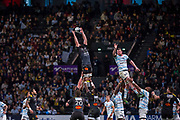 Mathieu Tanguy (raci) during the French Championship Top 14 Rugby Union match between Racing 92 and La Rochelle on february 18, 2018 at U Arena in Nanterre, France - Photo Pierre Charlier / ProSportsImages / DPPI