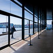Copenhagen playhouse theatre- interior window glazing (Copenhagen, Denmark - May. 2008) (Image ID: 080505-0949172a)