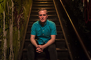 NEW YORK, NY - APRIL 12, 2016: John Early at Cake Shop in Manhattan. CREDIT: Emon Hassan for The New York Times