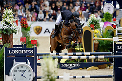 Alvarez Aznar Eduardo, ESP, Rokfeller de Pleville Bois Margot<br /> Gothenburg Horse Show FEI World Cups 2017<br /> © Hippo Foto - Stefan Lafrentz<br /> 26/02/17