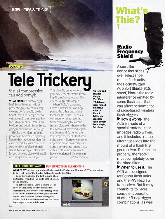Pop Photo: Tips & Tricks (January 2011)