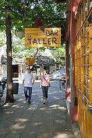 """""""BAR EL TALLER"""", BARRIO DE PALERMO VIEJO O SOHO, BUENOS AIRES, ARGENTINA"""