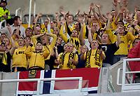 Fotball<br /> Intertoto Cup<br /> 15.07.2006<br /> Newcastle United v Lillestrøm<br /> Foto: Jed Wee/SBI/Digitalsport<br /> NORWAY ONLY<br /> <br /> Lillestrøm fans cheer their team on