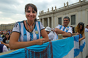 Vatican City sep 02nd 2015, wednesday general audience. In the picture some argentinian pilgrims - © PIERPAOLO SCAVUZZO