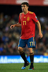 March 23, 2019 - Valencia, Valencia, Spain - Jaime Mata of Spain in action during the 2020 UEFA European Championships group F qualifying match between Spain and Norway at Estadi de Mestalla on March 23, 2019 in Valencia, Spain. (Credit Image: © Jose Breton/NurPhoto via ZUMA Press)