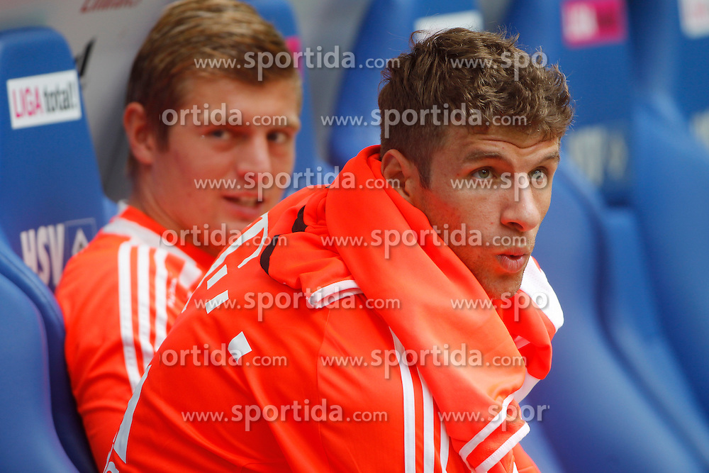 Football - soccer: LIGA total! Cup 2012, FC Bayern Muenchen.Thomas Mueller (FC Bayern Muenchen, #25) *** Local Caption *** © pixathlon