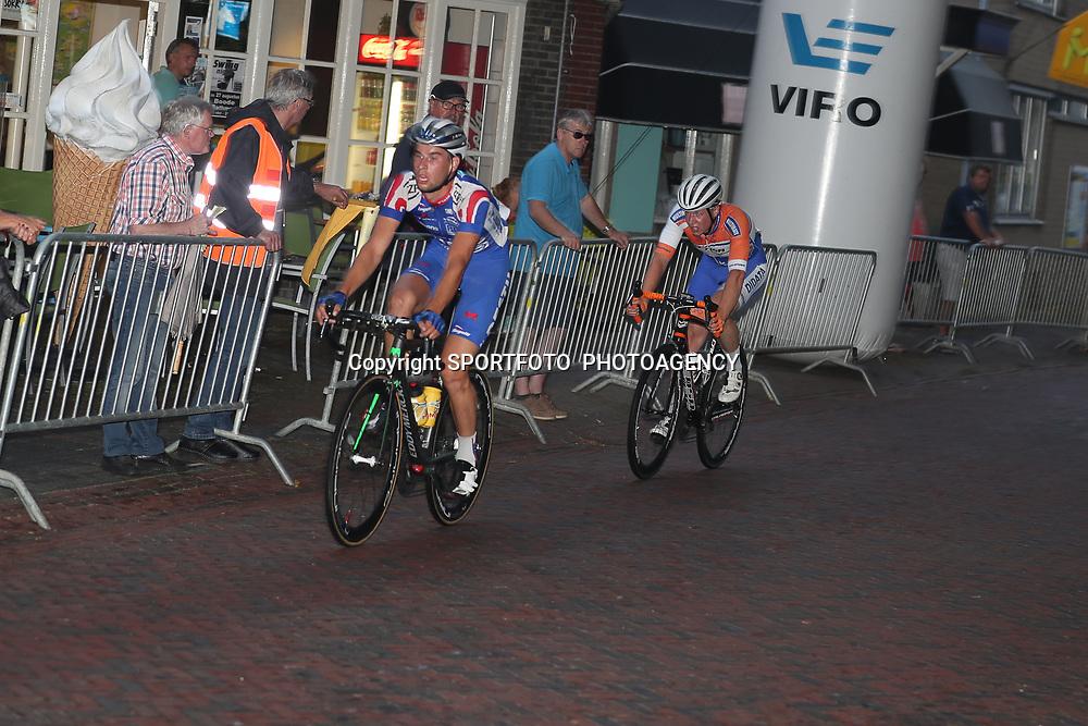 19-08-2016: Wielrennen: Ronde van Markelo: Markelo   <br />MARKELO (NED) wielrennen  <br />Joey van Rhee en Nick Kweldam