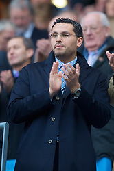 MANCHESTER, ENGLAND - Saturday, November 28, 2009: Manchester City owner Sheikh Mansour bin Zayed Al Nahya during the Premiership match against Hull City at the City of Manchester Stadium. (Photo by David Rawcliffe/Propaganda)