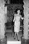 1963 - Irene Gilbert Fashion show at the Gresham Hotel, Dublin