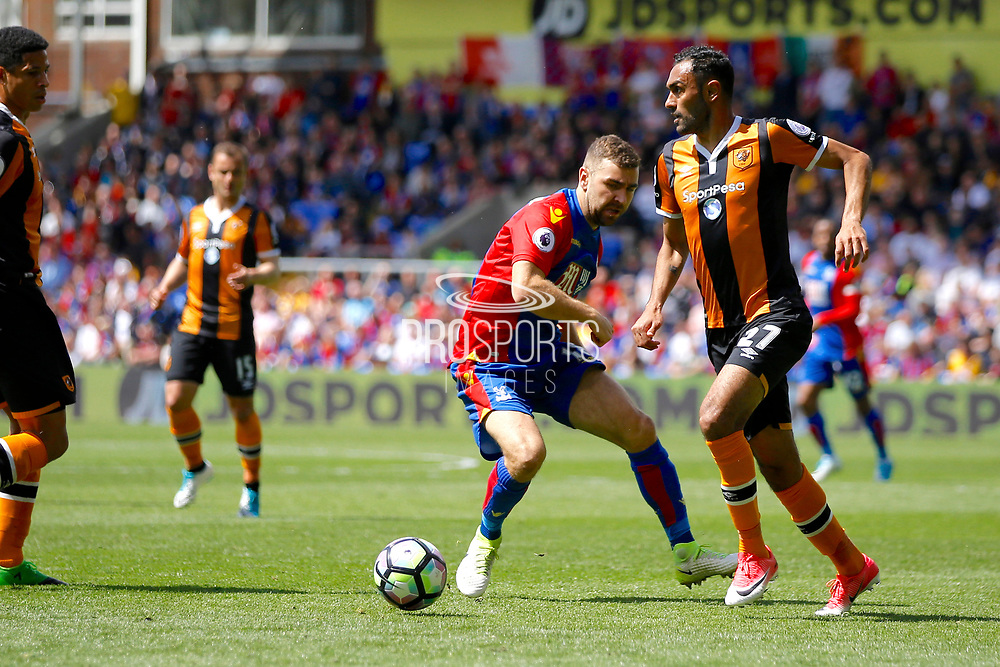 \Hull City Midfielder Ahmed Elmohamady during the Premier League match between Crystal Palace and Hull City at Selhurst Park, London, England on 14 May 2017. Photo by Andy Walter.