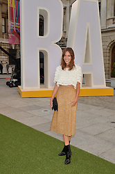 ALEXA CHUNG at the annual Royal Academy of Art Summer Party held at Burlington House, Piccadilly, London on 4th June 2014.