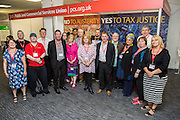 The PCS delegation and observers at the TUC congress 2016, Brighton. UK.