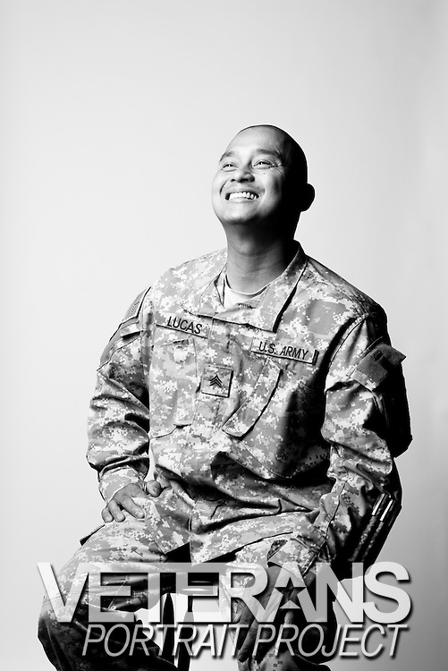 Lucas Neil<br /> Army<br /> E-5<br /> Cook<br /> July 24, 2003 - Present<br /> OIF, OEF<br /> <br /> <br /> Veterans Portrait Project<br /> Junction City, KS