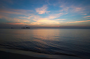 Panviman Resort Ko Chang. Sunset at the beach.