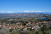 Scenic View of a Residential Community in Yorba Linda