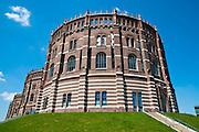 Gasometer City in Simmering, Wien, Österreich .|.Gasometer City in Simmering, Vienna, Austria..