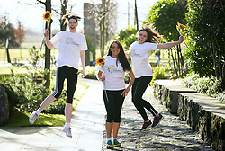 Repro Free: 18/02/2014<br /> Broadcaster and fitness instructor Louise Heraghty of 2fm fame is pictured with Unilever staff Kathryn Dodd (left) and Eimear Carroll-Byrne (right), to announce that registration opens on Wednesday 19th February for the 2014 Flora Women&rsquo;s Mini Marathon. Participants are advised to register early as the event regularly reaches maximum capacity in advance of the closing date. The popular 10k event takes place on Monday, 2nd June. The Flora Women&rsquo;s Mini Marathon is the biggest all-women&rsquo;s event of it&rsquo;s kind in the world and it draws over 40,000 participants each year. Since the biggest event began, over &euro;173m has been raised for Irish Charities, making it the biggest single day charity event in Ireland. Picture Andres Poveda