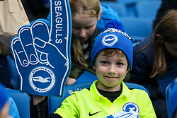 Charlie celebrates his 8th birthday at Brighton & Hove Albion - Mandatory byline: Jason Brown/JMP - 07966 386802 - 19/12/2015 - FOOTBALL - American Express Community Stadium - Brighton,  England - Brighton & Hove Albion v Middlesbrough - Championship