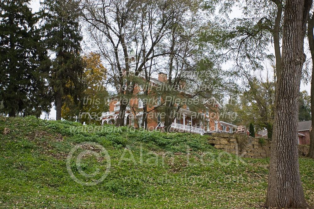 October 2009:  Bernadine Stillman Inn, Galena Illinois. Sights to see in and around Galena Illinois.