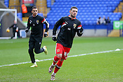MK Dons midfielder, on loan from Brighton & Hove Albion, Jake Forster-Caskey  during the Sky Bet Championship match between Bolton Wanderers and Milton Keynes Dons at the Macron Stadium, Bolton, England on 23 January 2016. Photo by Simon Davies.