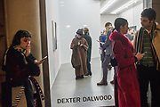 Dexter Dalwood private view, Simon Lee Gallery, 28 February 2019