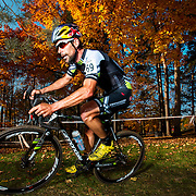 Tim Johnson of Cannondale/cyclocrossworld.com winner of the Serie de cyclocross Ekoi #6 / CX Specialized de Sherbrooke in Sherbrooke on October,  13 2013