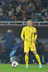 November 14, 2017 - Bucharest, Romania - Vlad Chiriches (Rom) during International Friendly match between Romania and Netherlands at National Arena Stadium in Bucharest, Romania, on 14 november 2017. (Credit Image: © Alex Nicodim/NurPhoto via ZUMA Press)