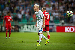 Kevin Kampl of Sloveniaduring the EURO 2016 Qualifier Group E match between Slovenia and England at SRC Stozice on June 14, 2015 in Ljubljana, Slovenia. Photo by Grega Valancic