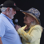 Lynn Anderson performs with the Leroy Van Dyke Country Gold Tour. Anderson plucks Paul Schuette from the crowd for a sing along. Food and rides are the main attraction around the midway of the South Florida State Fair. <br />