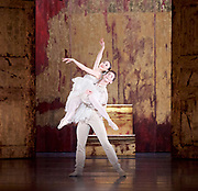 The Birmingham Royal Ballet <br /> Three Short Story Ballets (mixed Bill) <br /> at Birmingham Hippodrome, Birmingham, Great Britain <br /> Rehearsal 21st June 2017 <br /> <br /> Le Baiser de la f&eacute;e <br /> Choreography by Michael Corder<br /> <br /> Music: Igor StravinskyDesigns: John MacfarlaneLighting: Paule Constable<br /> <br /> <br /> <br /> <br /> Young Man: <br /> <br /> Mathias Dingman<br /> Bride: <br /> <br /> Miki Mizutani <br /> <br /> <br /> <br /> <br /> <br /> <br /> <br /> <br /> Photograph by Elliott Franks <br /> Image licensed to Elliott Franks Photography Services