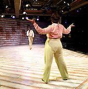 The Color Purple <br /> at the Menier Chocolate Factory, London, Great Britain <br /> Press photocall<br /> 12th July 2013 <br /> <br /> Cynthia Erivo as Celie<br /> <br /> Nicola Hughes as Shug Avery <br /> <br /> Adebayo Bolaji as Harpo<br /> <br /> Sophia Nomvete as Sofia<br /> <br /> Christopher Colquhoun as Mister)<br /> <br /> Photograph by Elliott Franks