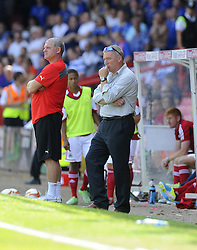 Glasgow Rangers, Manager Ally Mccoist - Photo mandatory by-line: Joe Meredith/JMP - Tel: Mobile: 07966 386802 13/07/2013 - SPORT - FOOTBALL - Bristol -  Bristol City v Glasgow Rangers - Pre Season Friendly - Bristol - Ashton Gate Stadium