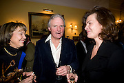 LADY MEYER; CHARLES ANSON; SOPHIE CHARBONEAU, Mrs. Richard Briggs at home to celebrate Catherine Meyer's birthday. Sloane Gardens. London. 28 January 2009 *** Local Caption *** -DO NOT ARCHIVE-© Copyright Photograph by Dafydd Jones. 248 Clapham Rd. London SW9 0PZ. Tel 0207 820 0771. www.dafjones.com.<br /> LADY MEYER; CHARLES ANSON; SOPHIE CHARBONEAU, Mrs. Richard Briggs at home to celebrate Catherine Meyer's birthday. Sloane Gardens. London. 28 January 2009
