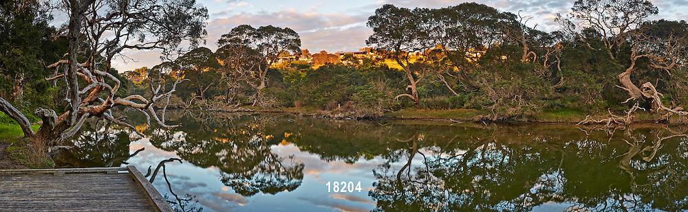 Spring Creek sunrise