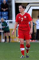 Fifa Womans World Cup Canada 2015 - Preview //<br /> Cyprus Cup 2015 Tournament ( Gsp Stadium Nicosia - Cyprus ) - <br /> Italy vs Canada 0-1   //  Rhian Wilkinson of Canada