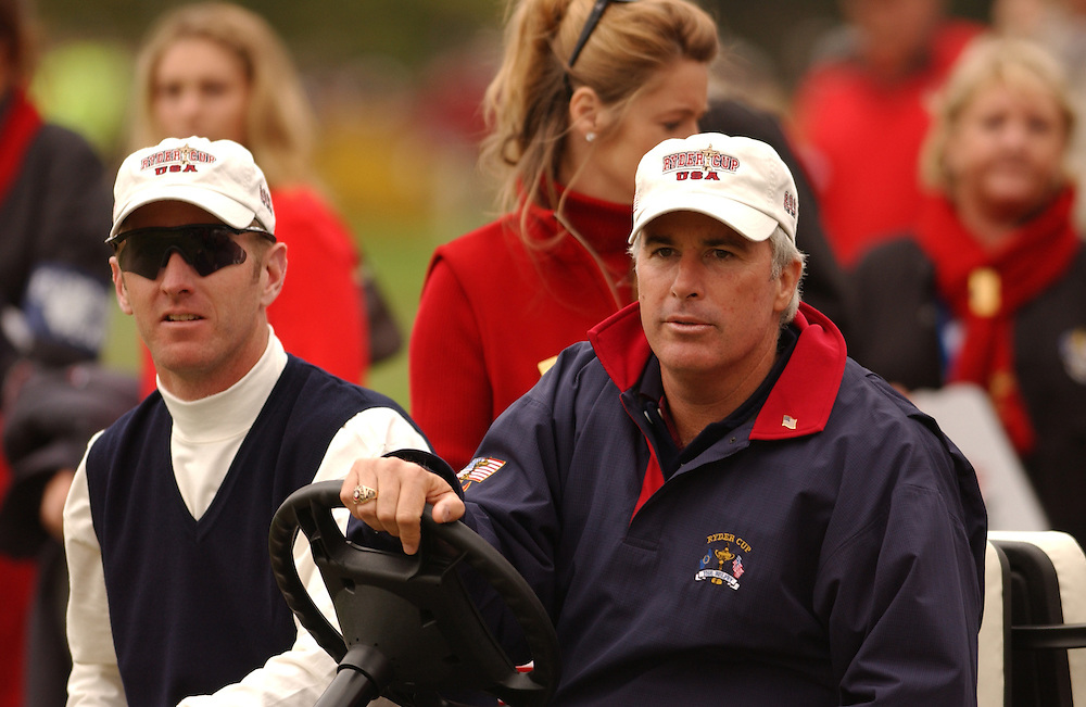 Sutton Coldfield, UK..2002 Ryder Cup..09/26/02, Friday  Morning Fourball Matches..Photograph