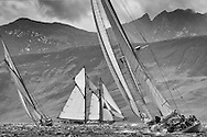 Halloween 1926 Berm Sloop with Altair 1931 Schooner.<br />