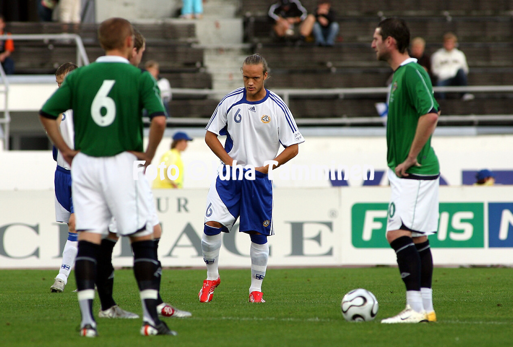 16.08.2006, Olympic Stadium, Helsinki, Finland..Friendly Internatinal Match, Finland v Northern Ireland..Mika V?yrynen - Finland.©Juha Tamminen.....ARK:k