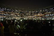 Romeo Santos performing at Yankee Stadium on July 11, 2014 in the Bronx, New York.