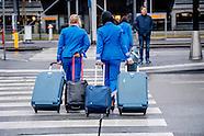 KLM EN TAXISTANDSPLAATSEN