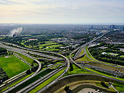 Nederland, Zuid-Holland, Den Haag, 14-09-2019; Prins Clausplein, verkeersknooppunt tussen A4 en A12. Naar (rechts)boven de Utrechtsebaan richting centrum Den Haag<br /> Prins Clausplein, traffic junction between A4 and A12.<br /> luchtfoto (toeslag op standard tarieven);<br /> aerial photo (additional fee required);<br /> copyright foto/photo Siebe Swart