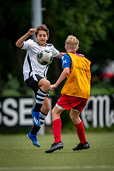 Samuel #2 of VV Maarssen in action. VV Maarssen O14-1 played a friendly game against CDW O15-2. Maarssen won 9-2 on July 11, 2020 at Daalseweide sports park Maarssen.
