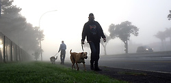 South Africa - Cape Town - 010520.  Joggers and dog owners took to the streets of Parow West on the first day of the Level Four lockdown restrictions which allow walking, excercise or jogging between 6am and 9am. Picture: Ian Landsberg/African News Agency (ANA).