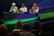 October 23-25, 2015: United States GP 2015: Lewis Hamilton (GBR), Mercedes, Nico Rosberg  (GER), Mercedes, Sebastian Vettel (GER), Ferrari