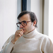 Bertrand Burgalat, compositeur - master class musique et film avec  Stéphane Lerouge pour emergence cinema - SACEM, Paris, feb 2012.