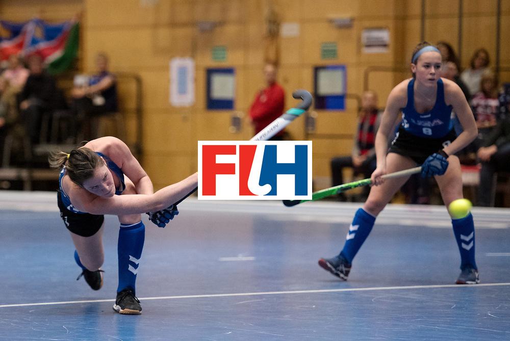 BERLIN - Indoor Hockey World Cup<br /> United States - Namibia<br /> foto: Ali Campbell <br /> WORLDSPORTPICS COPYRIGHT FRANK UIJLENBROEK