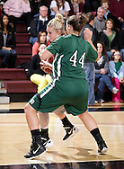December 3, 2011: The Oklahoma Baptist University Bison play against the Oklahoma Christian University Lady Eagles at the Eagles Nest on the campus of Oklahoma Christian University.